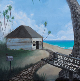 Cottage Mural